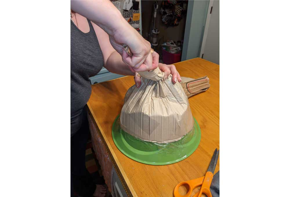 How to make an Easy Witch Hat 8