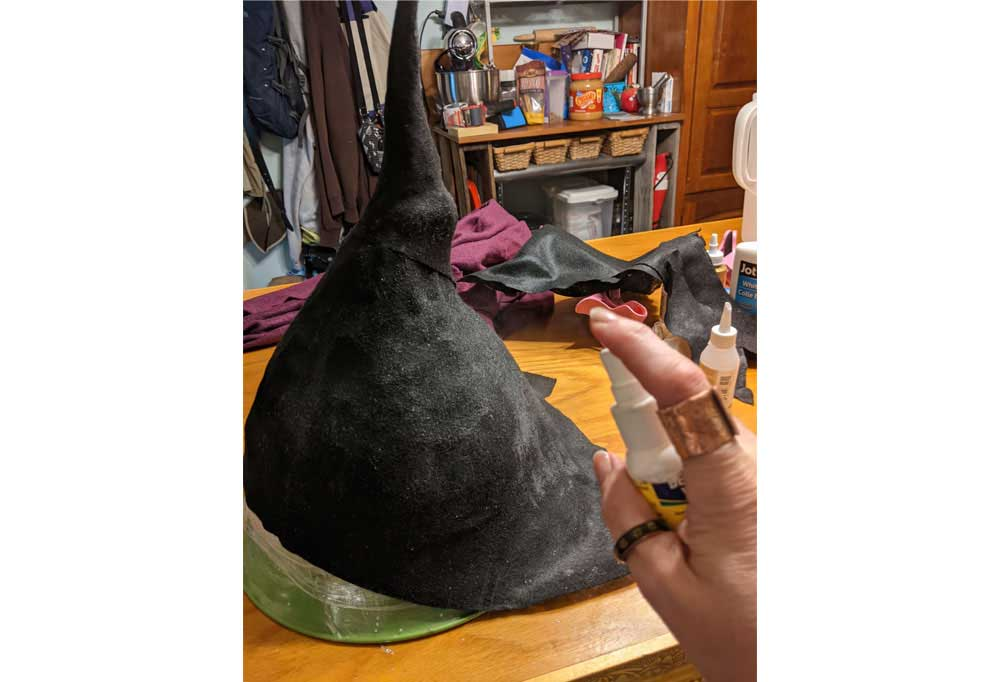 How to make an Easy Witch Hat 30