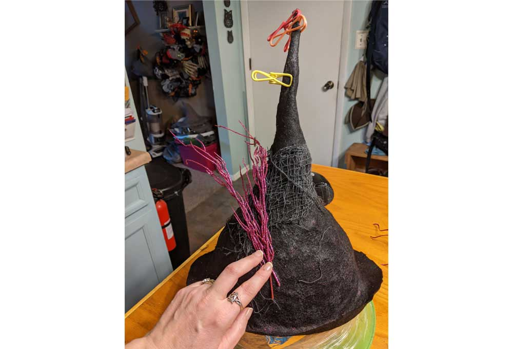 How to make an Easy Witch Hat 44