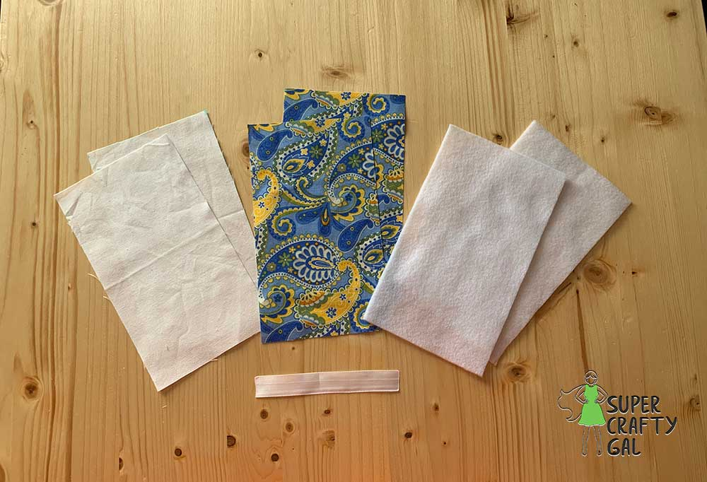fabrics and materials used for making an eyeglass case